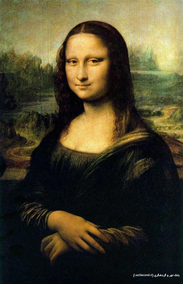 monalisa مونالیزا لئوناردو داوینچی