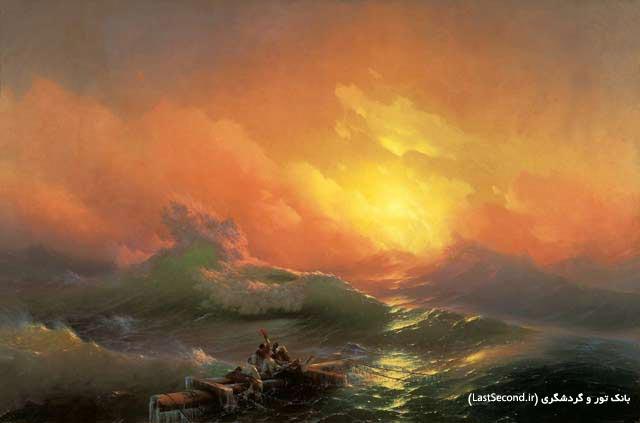 oAlvazovsky موج نهم ایوان آیوازوفسکی