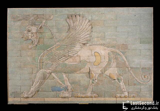 آثار باستانی ایرانی در موزه لوور