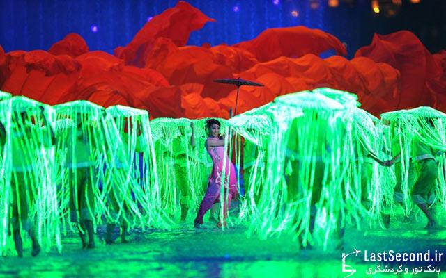 مراسم افتتاحیه بازیهای آسیانی 2010 چین - گوانجو