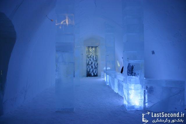 هتل یخی سوئد