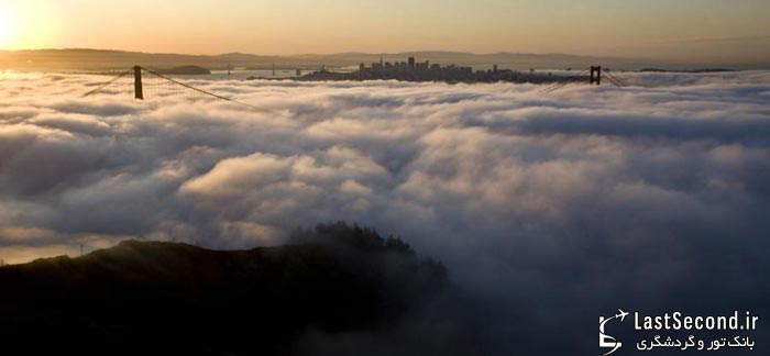 سن فرانسیسکو شهری در مه