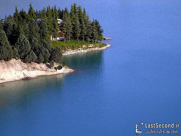 زیباترین و دیدنی ترین مناطق ایران Iran - دریاچه ی لتیان