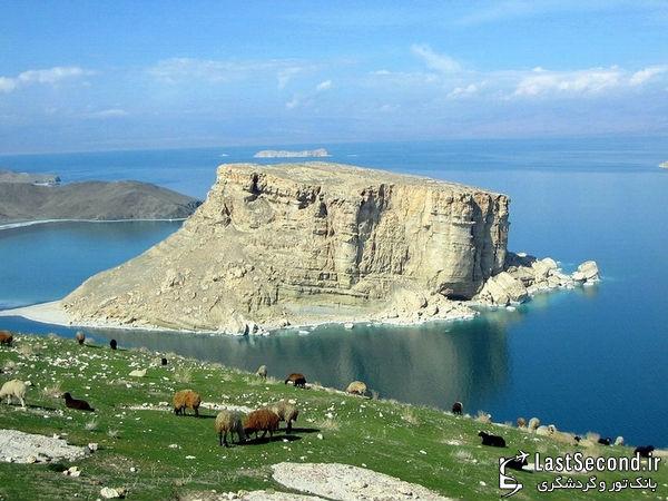 زیباترین و دیدنی ترین مناطق ایران Iran - دریاچه ی ارومیه ، اذربایجان