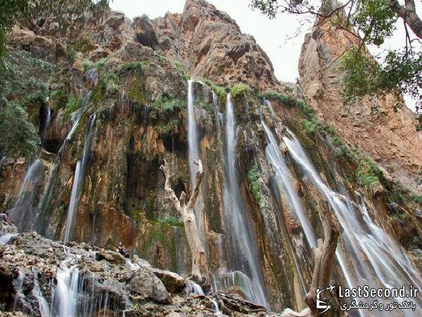 زیباترین و دیدنی ترین مناطق ایران Iran - آبشار مارگون، سپیدان