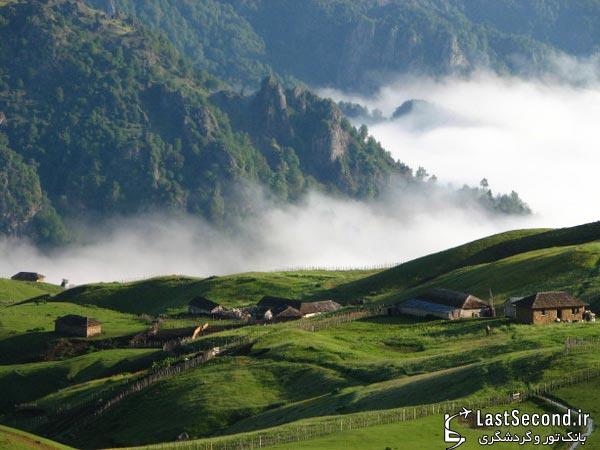 زیباترین و دیدنی ترین مناطق ایران Iran - روستای سوباتان، اردبیل