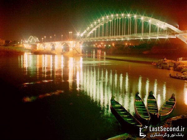 زیباترین و دیدنی ترین مناطق ایران Iran - پل سفید ، اهواز