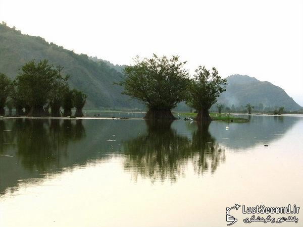 زیباترین و دیدنی ترین مناطق ایران Iran - دریاچه ی آرام ، گیلان