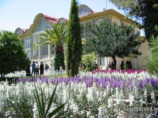 زیباترین و دیدنی ترین مناطق ایران Iran - باغ ارم ، شیراز