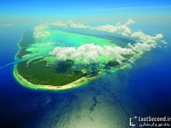 جزیره آلدابرا،دومین جزیره ی مرجانی بزرگ دنیا