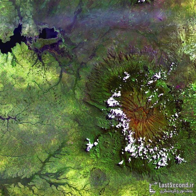 رشته کوه Elgon، مرز اوگاندا - کنیا