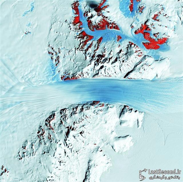 یخچال Byrd، قطب