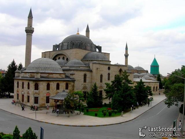 قونیه ، مزار مولانا پایتخت معنوی ترکیه