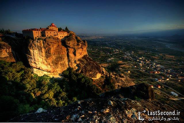 متیئورا (بهشت های آسمانی) یونان